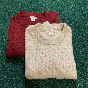 Cropped sweater bundle